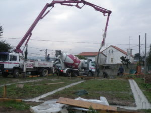 ZAPATA CORRIDA - HORMIGONADO DE CIMENTACION