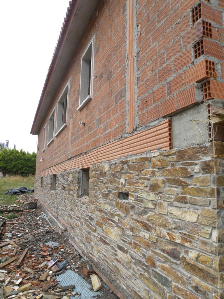 1 2 paredes exteriores - Revestimiento exterior piedra ...