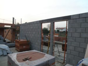 CONSTRUCCION DE PARED DE CARGA EN BLOQUE DE 15 CMS  2