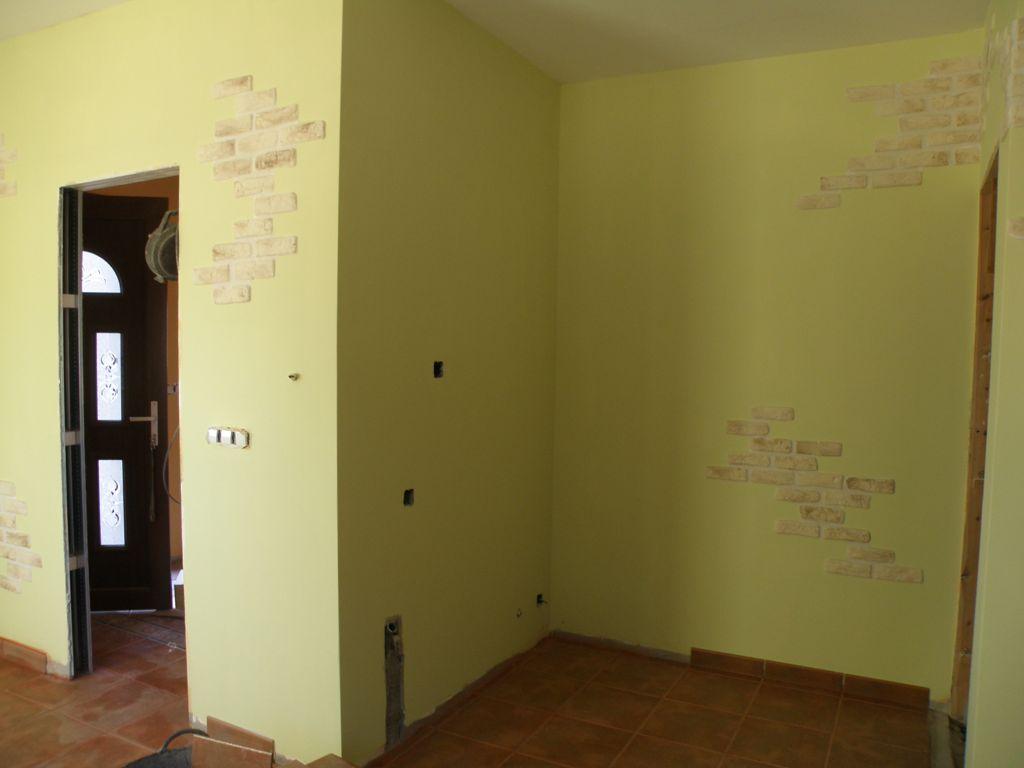 Paredes imitacion piedra interior elegant paredes - Pared piedra interior ...